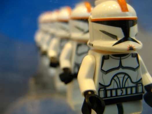 Identical Storm Troopers
